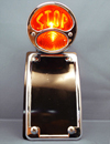 Model A Ford Bobber Style Radius Side Mount Tail Light